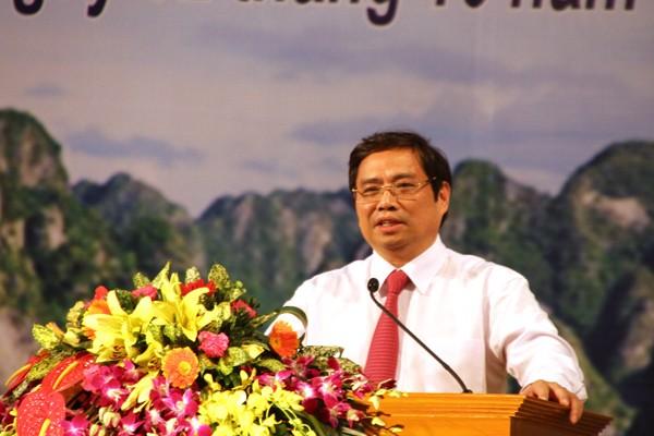 Phạm Minh Chính, Trưởng Ban tổ chức TƯ, bộ chính trị