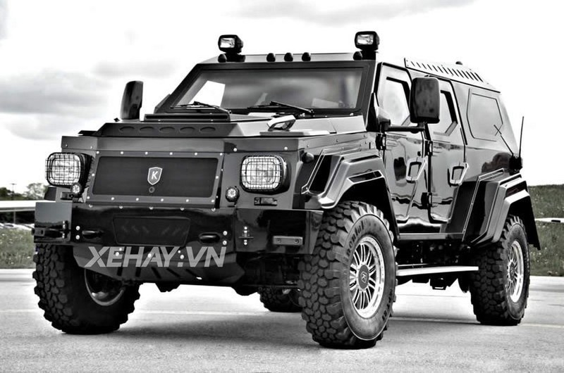 Xe bọc thép Conquest Knight XV giá hơn 50 tỷ chuẩn bị về Quảng Ninh - ảnh 15