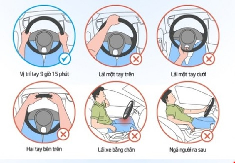 Khi lái xe, ngồi thế nào cho đúng, cho oai? - ảnh 4