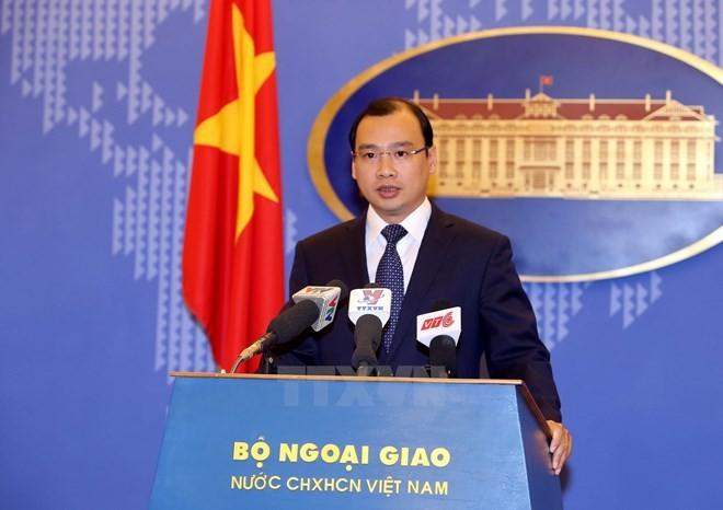 Việt Nam kiên quyết bảo vệ chủ quyền và lợi ích hợp pháp ở biển Đông - ảnh 1
