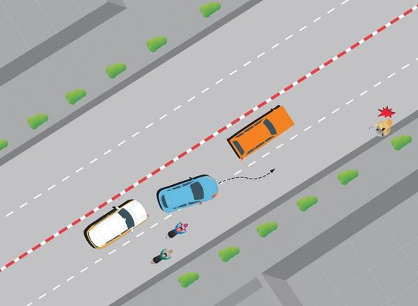 Kinh nghiệm lái ô tô trên đường phố đông người - ảnh 2