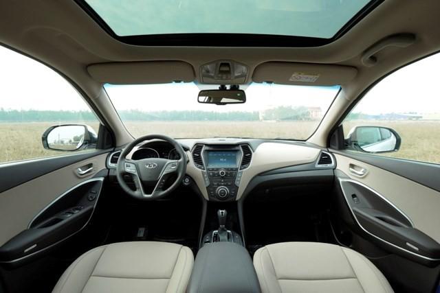 Chính thức ra mắt, Hyundai SantaFe 2016 giá từ 1,1 tỷ đồng - ảnh 9