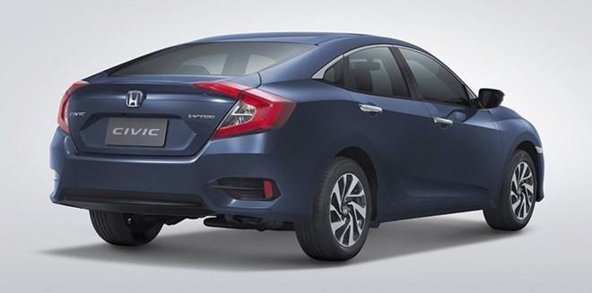 Honda Civic 2016 có giá bán từ 548 triệu đồng tại Thái Lan