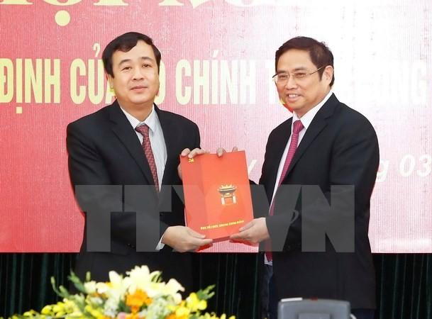 Ông Ngô Đông Hải giữ chức Phó Trưởng ban Kinh tế Trung ương - ảnh 1