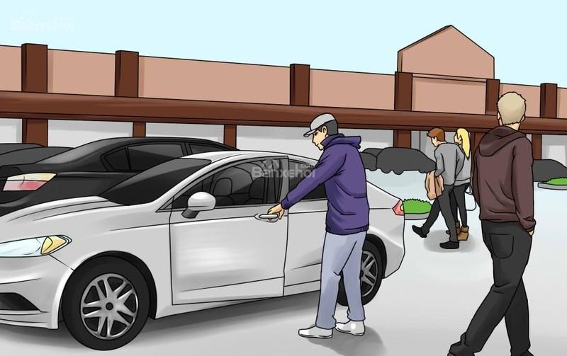 Chọn nơi đỗ xe cũng là một biện pháp quan trọng giúp phòng ngừa hành vi trộm cắp xe