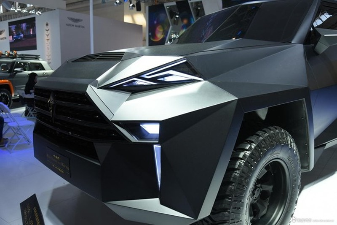 Siêu xe 'lập dị' IAT Kalman của Trung Quốc có giá bán lè lưỡi - ảnh 6