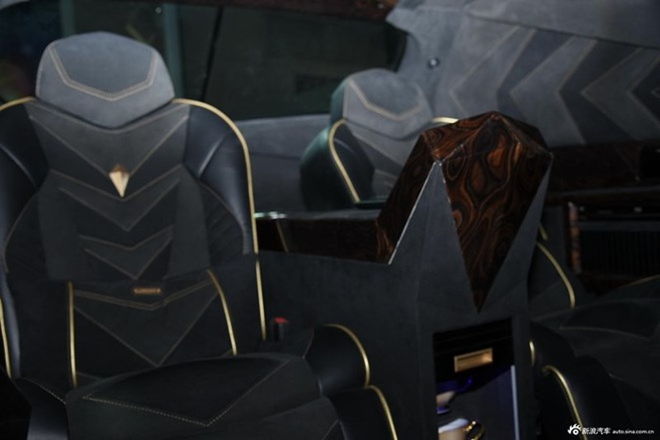 Siêu xe 'lập dị' IAT Kalman của Trung Quốc có giá bán lè lưỡi - ảnh 8