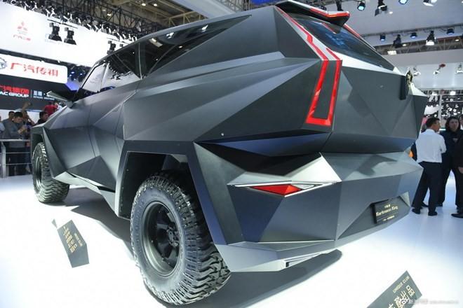 Siêu xe 'lập dị' IAT Kalman của Trung Quốc có giá bán lè lưỡi - ảnh 3