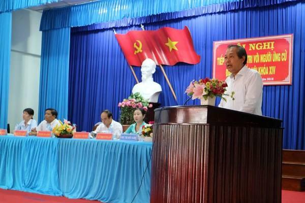 Phó Thủ tướng Trương Hoà Bình tiếp xúc cử tri Long An - ảnh 1