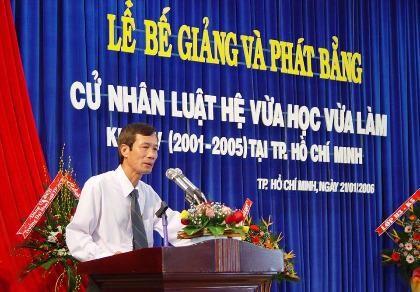 Nguyên Hiệu trưởng ĐH Luật TP.HCM - PGS-TS Nguyễn Văn Luyện qua đời  - ảnh 1