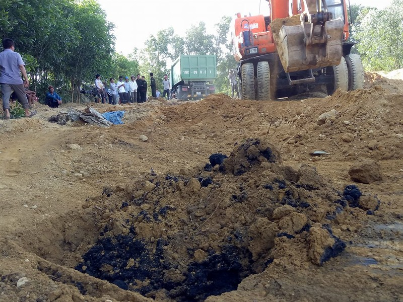 Chất thải của Foromsa chôn lấp có chứa xyanua vượt ngưỡng - ảnh 1