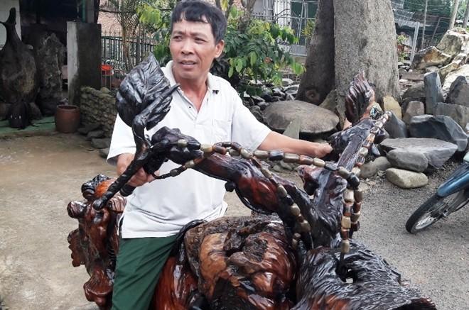 Mô tô bằng gốc cây của nông dân Lâm Đồng khiến dân chơi xe sửng sốt - ảnh 6