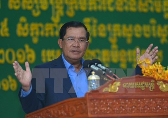 Thủ tướng Campuchia cảnh báo cuộc biểu tình của CNRP - ảnh 1