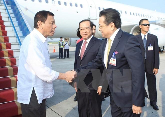 Tổng thống Philippines Duterte đã đến Hà Nội - ảnh 3