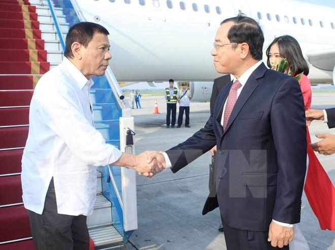 Tổng thống Philippines Duterte đã đến Hà Nội - ảnh 2