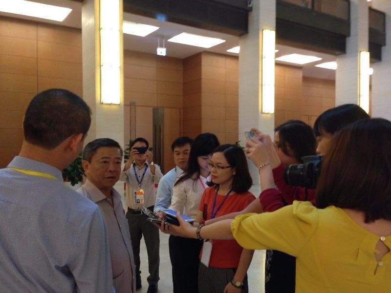Ông Võ Kim Cự trả lời phỏng vấn về Formosa