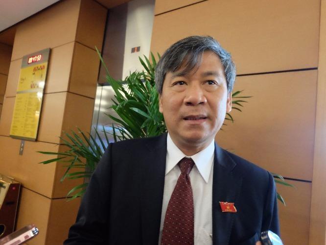 GS.TS Nguyễn Anh Trí, ĐBQH Hà Nội. Ảnh: VIỆT HOA