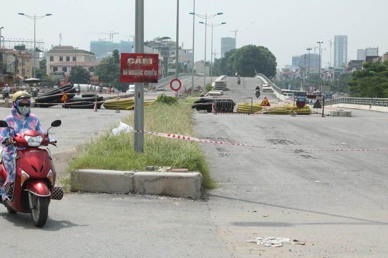Một người chết, tạm dừng thi công dự án nút giao thông Cầu Giấy - ảnh 3
