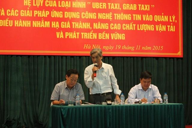 Các hãng taxi lại 'đòi' quyền lợi giống Uber và Grab taxi - ảnh 1