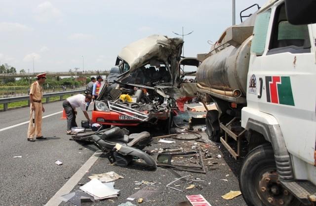 Gần 3.000 người chết vì tai nạn giao thông trong 4 tháng - ảnh 1