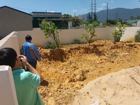 Phát hiện thêm 10 tấn chất thải của Formosa trong khu dân cư - ảnh 1