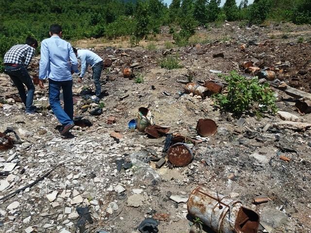 Lại phát hiện hàng tấn chất thải của Formosa chôn ở trang trại - ảnh 2
