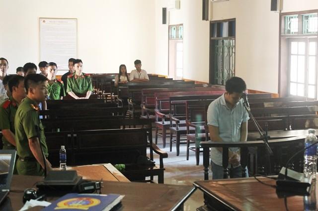 Nguyễn Tiến Quân thừa nhận hành vi trộm cắp của mình