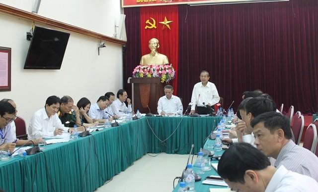 Phó Thủ tướng thường trực Trương Hòa Bình: 'Tiêu cực xảy ra khắp nơi' - ảnh 1