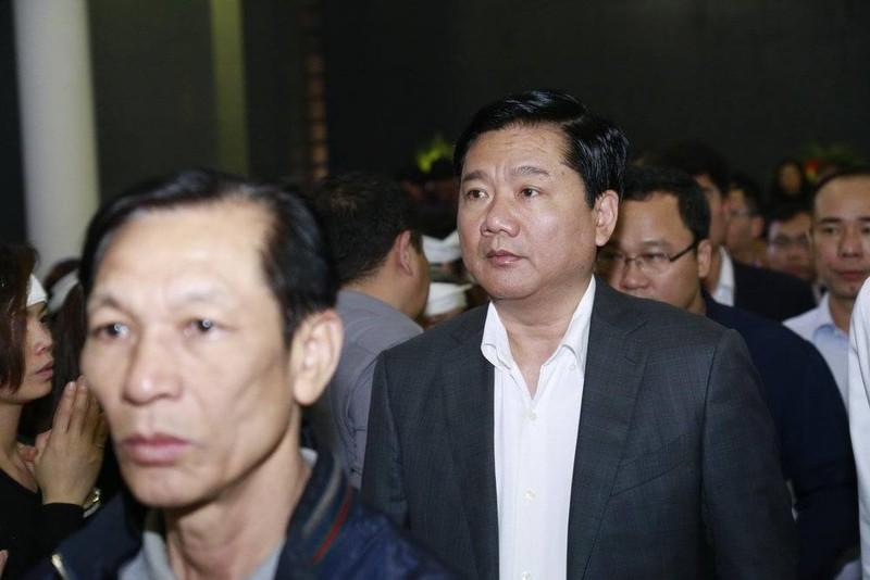 Bí thư Thành ủy TP.HCM Đinh La Thăng viếng nghệ sĩ Trần Lập - ảnh 2