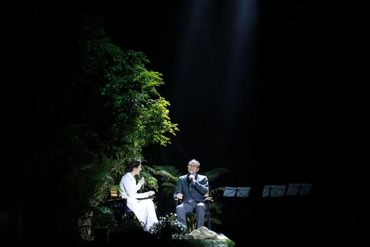 Hồng Nhung đeo kính, che mắt sưng hát nhớ Trịnh 15 năm - ảnh 8
