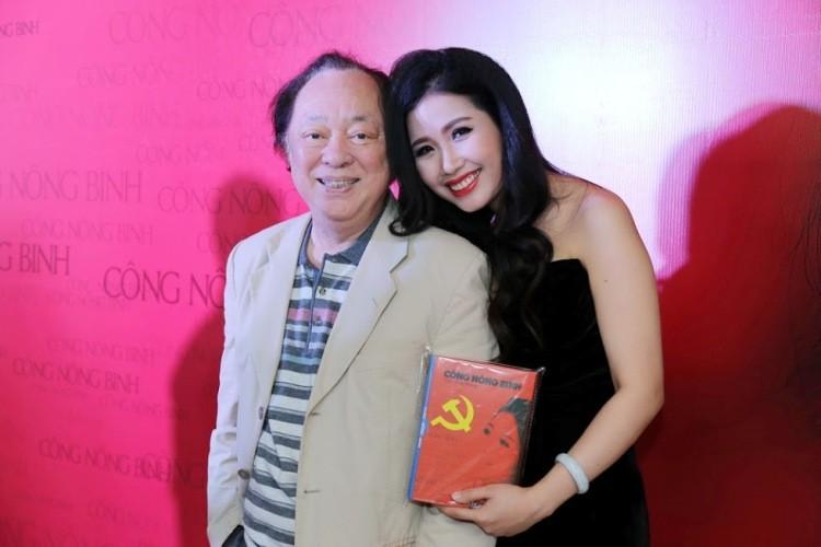 Ca sĩ Hồng Nhung ra mắt CD Công Nông Binh   - ảnh 1