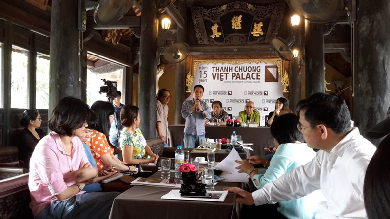 Họa sĩ Thành Chương trần tình về việc bán vé vào Việt phủ Thành Chương  - ảnh 1