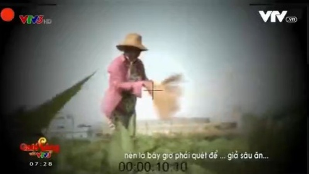VTV nói gì về việc phóng viên làm clip 'dùng chổi quét rau' bị phản ứng  - ảnh 1