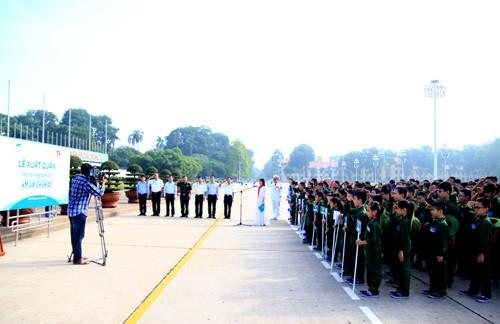 Chiến sĩ nhí gia nhập Đặc công Hải quân - ảnh 1