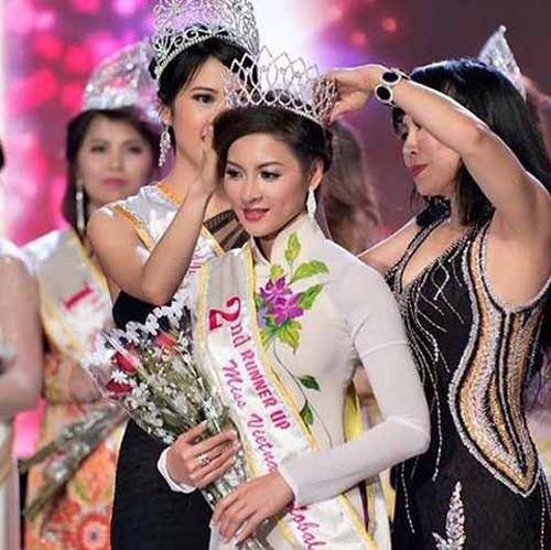 Thái Nhã Vân thi chui Hoa hậu Việt Nam Toàn cầu