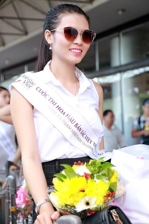 Dàn người đẹp 'ngoại' cuộc thi Hoa hậu Bản sắc Việt đổ bộ về nước   - ảnh 3