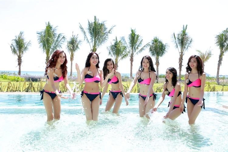 Người đẹp gốc Việt khoe đường cong tại 'Hoa hậu Bản sắc Việt' - ảnh 6