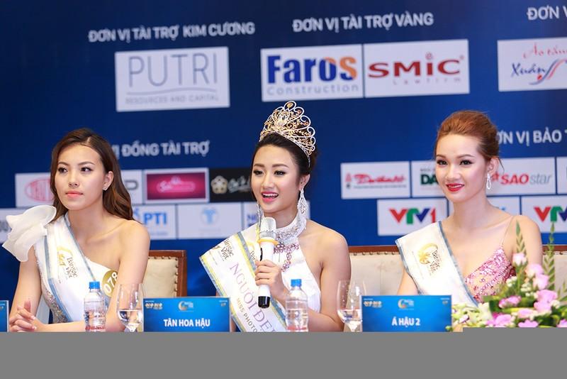 BTC Hoa hậu bản sắc Việt nói về nghi án lộ đề thi ứng xử  - ảnh 2