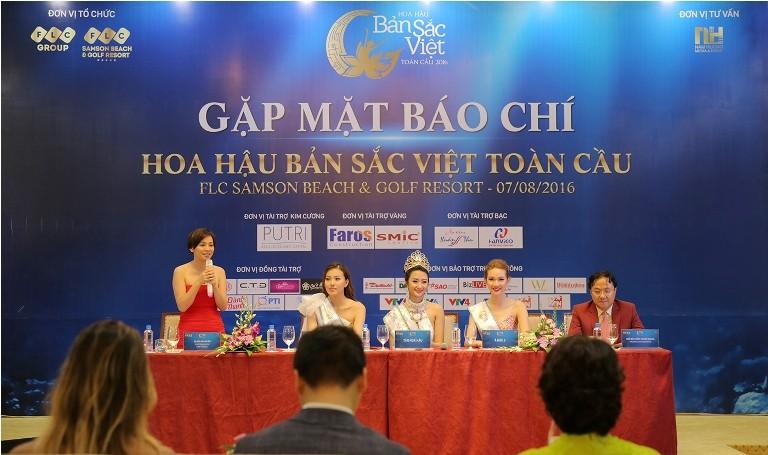 BTC Hoa hậu bản sắc Việt nói về nghi án lộ đề thi ứng xử  - ảnh 1