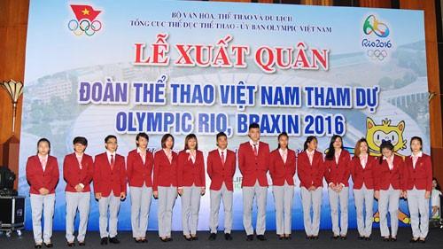 Đoàn thể thao Việt Nam lên tiếng về việc 'quan chức tranh suất ở Olympic' - ảnh 1