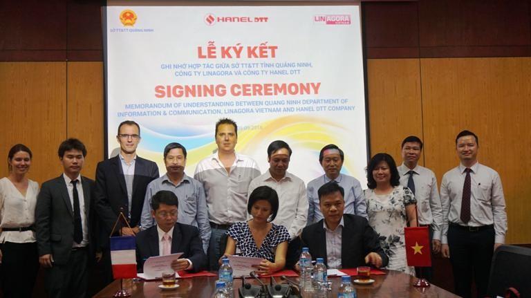 Công ty của Pháp giúp Quảng Ninh xây dựng chính quyền điện tử - ảnh 1