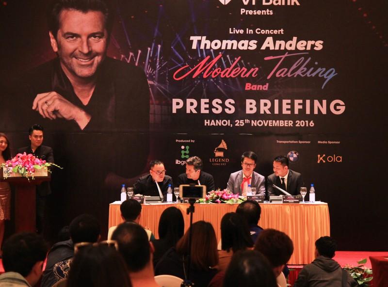 Huyền thoại của Modern Talking bất ngờ với Việt Nam   - ảnh 1