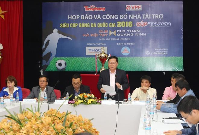 Siêu cúp bóng đá quốc gia tăng giá trị tiền thưởng - ảnh 1