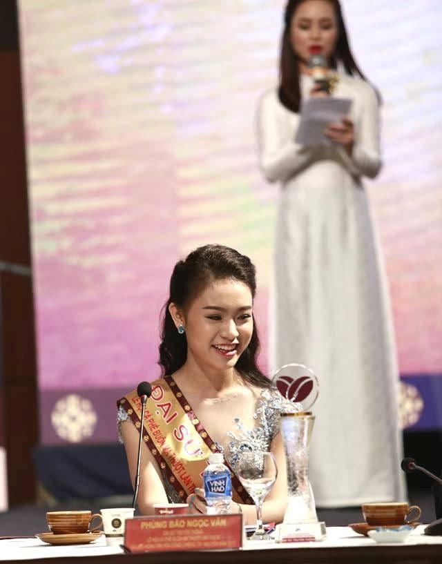 Người đẹp Ngọc Vân trở thành đại sứ lễ hội cà phê - ảnh 1