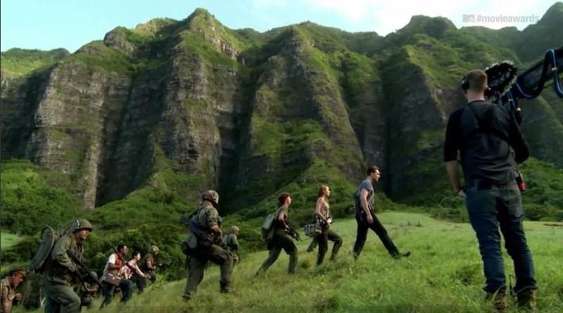 Một cảnh phim Kong: Skull Island quay ở Việt Nam
