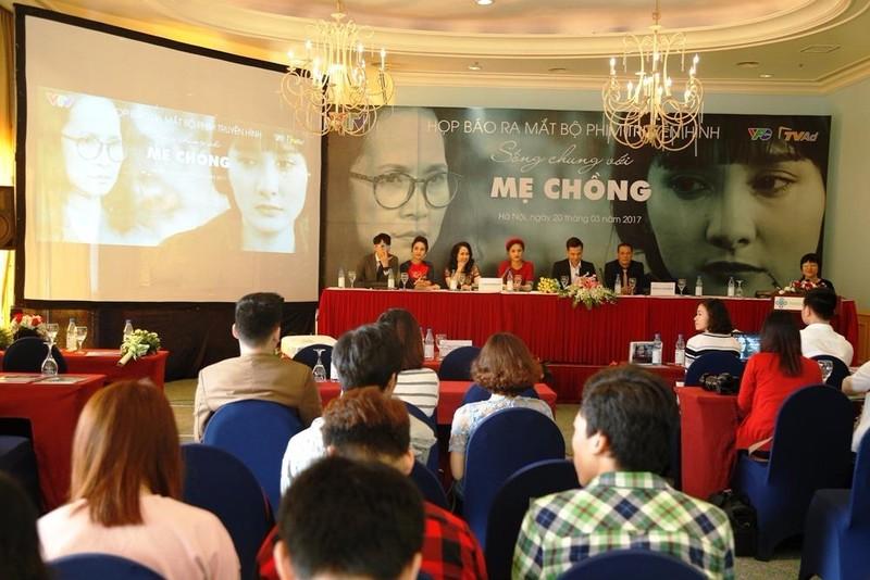 Buổi họp báo giới thiệu phim.