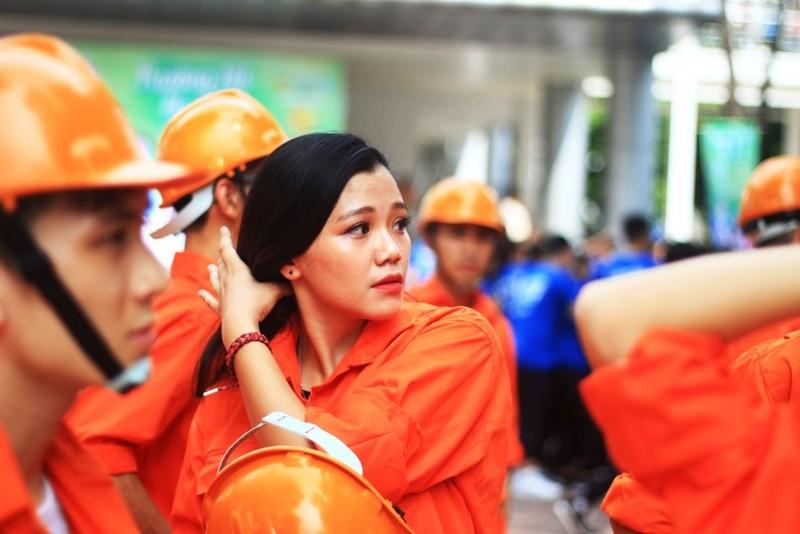 Nữ sinh Đại học Xây dựng làm lu mờ Á hậu Huyền My - ảnh 7