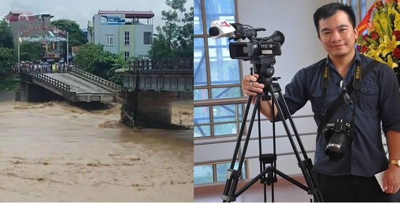 Tìm thấy thi thể phóng viên mất tích trong lũ ở Yên Bái - ảnh 1
