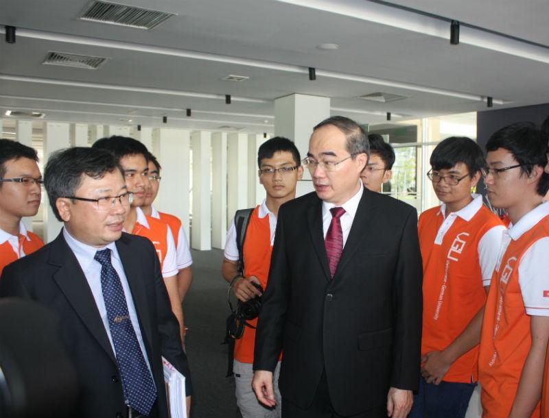 Trường ĐH Việt - Đức trở thành mô hình đại học mới - ảnh 2