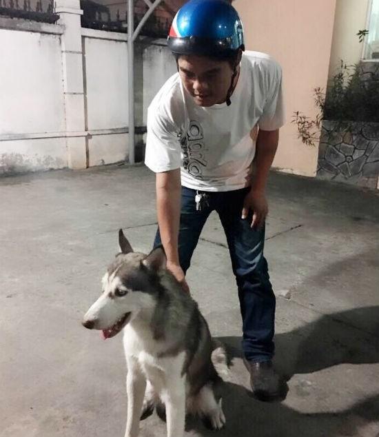 'Hiệp sĩ' bắt nghi can trộm chó cưng giá 20 triệu đồng - ảnh 1